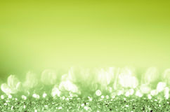 Naturalny zielone światło abstrakt Obraz Stock