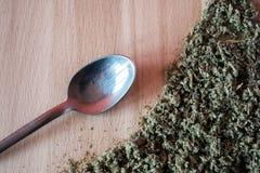 Naturalny ziołowy podżegający, antimicrobial, hemostatyczny - organicznie mądra herbata obraz stock