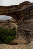 Naturalnych mostów Krajowy zabytek w Utah Obraz Stock