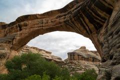 Naturalnych mostów Krajowy zabytek w Utah Zdjęcia Royalty Free