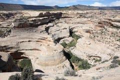 Naturalnych mostów Krajowy zabytek w Utah, usa Fotografia Royalty Free