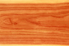 Naturaly colored wooden timber. Massive wood timber - naturally red colored (no paint Royalty Free Stock Image