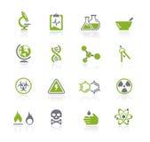 naturavetenskapsserie stock illustrationer