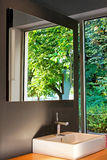Naturbadezimmer Stockfotografie