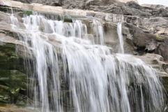 Nature. Waterfalls in nature reserve park Stock Photography