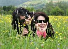 Among the nature Stock Photo
