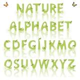 Nature alphabet Stock Photography