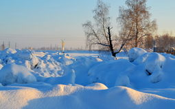 Nature. Altaya pleases eye of the artist in any season of the year Stock Photography
