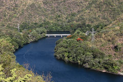 The nature around Bhumibol Dam Stock Photo