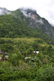 Nature around Nong Khiaw village Royalty Free Stock Photography