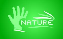 Nature art symbol Stock Images