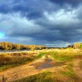 Nature automnale, paysage Photographie stock libre de droits