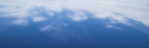 Nature background -  blue sky with clouds Stock Images