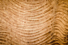 nature background of brown handicraft weave texture bamboo surface stock photography