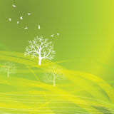 Nature background Eco concept stock illustration