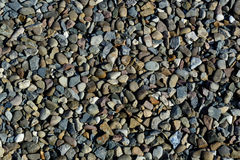 Nature background from gray sea pebbles. Texture. Royalty Free Stock Photos