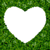 Nature background with heart. Stock Image