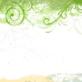 Nature Background. Illustration of an Abstract Floral Background Stock Photography