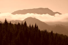 Nature background mountains Stock Photos