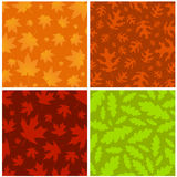 Nature background set. Nature background with four different style vector vector illustration