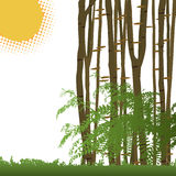 nature background vector Stock Image