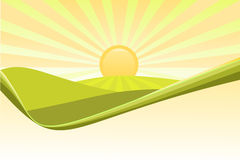Nature backgrounds vector illustration