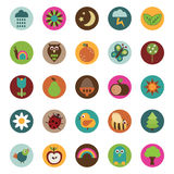 Nature badges Royalty Free Stock Photo