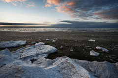 Nature. Baltic Sea in winter. Wonderful place in the world Royalty Free Stock Photography