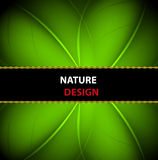 Nature banner background design Royalty Free Stock Images