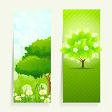 Nature banners Royalty Free Stock Photo