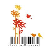 Nature Barcode Concept Stock Image