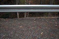 Nature Guardrail. Barrier protecting Mother Nature and Mankind from each other Royalty Free Stock Photography
