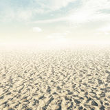Nature. Beach background in vintage style Stock Photography