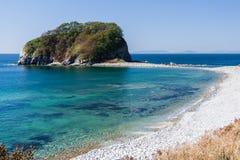 Nature, Beaches and islands near Vladivostok,  Russia Royalty Free Stock Image