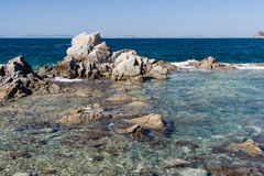 Nature, Beaches and islands near Vladivostok,  Russia Royalty Free Stock Photos