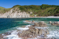 Nature, Beaches and islands near Vladivostok,  Russia Stock Image