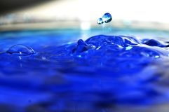 Nature beautiful blue water abstract royalty free stock image