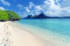 Beautiful tropical seascape. Sky and sea Stock Photo