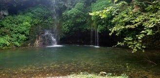Natural falls royalty free stock photos