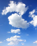 Nature blue sky Royalty Free Stock Photography