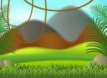 A nature blur background. Illustration stock illustration