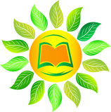 Nature book logo Stock Images