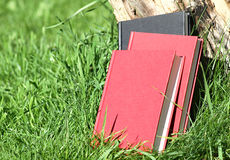 Nature books Royalty Free Stock Photography