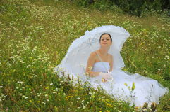 Nature bride Royalty Free Stock Image