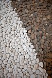Nature brown white texture scree gravel grit stone Stock Images