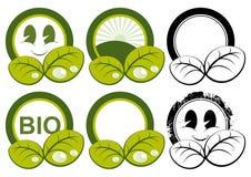 Nature Buttons Stock Photos