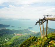 Cable car on Langkawi Island, Malaysia Stock Photography