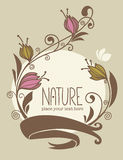 Nature card Stock Photography
