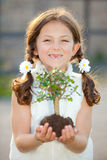 Nature child royalty free stock photos