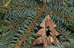 Nature Christmas Decoration Stock Photos